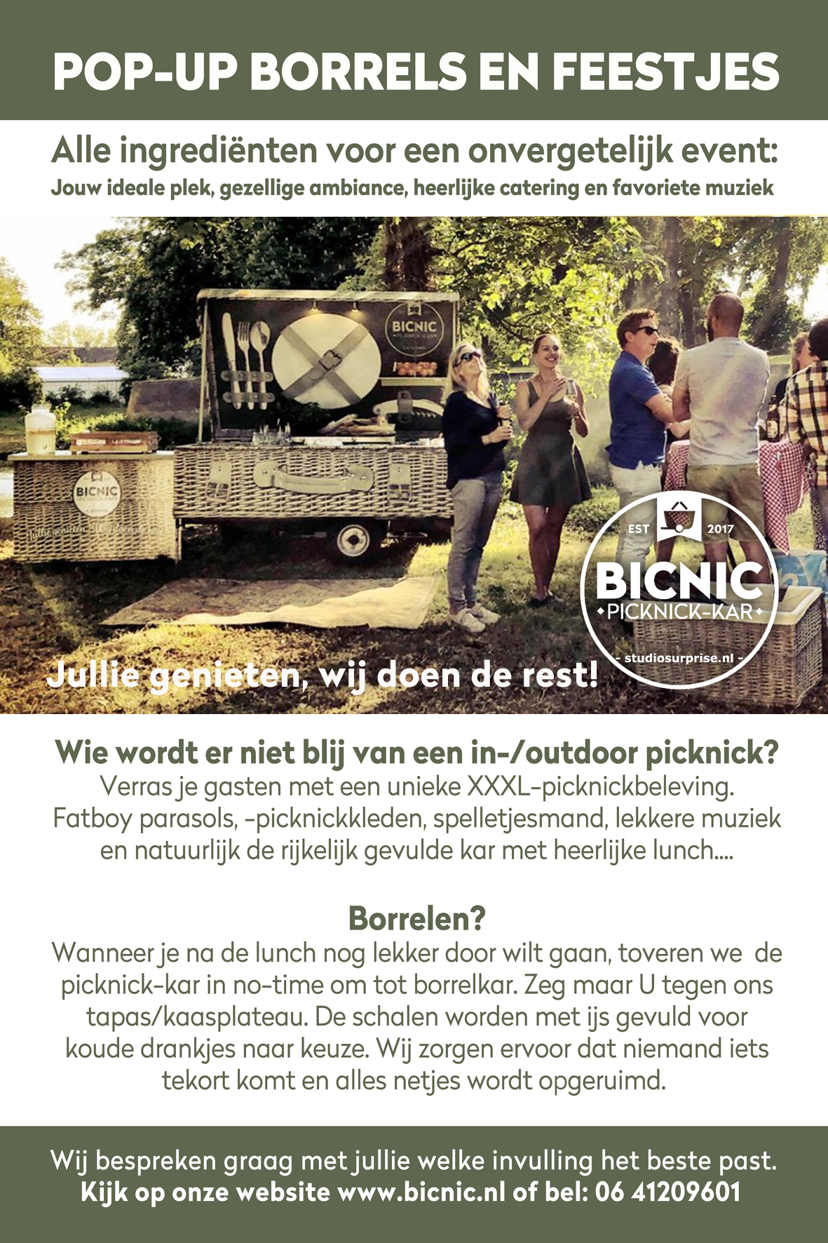 POP-UP BORREL en FEESTJES